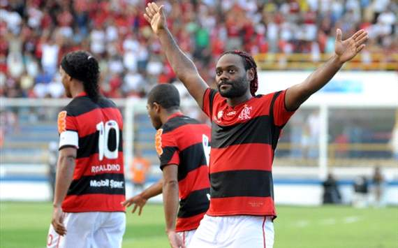 Brasileiro results Round 2: Ronaldinho & Vagner Love on target as Flamengo crumble against Internacional