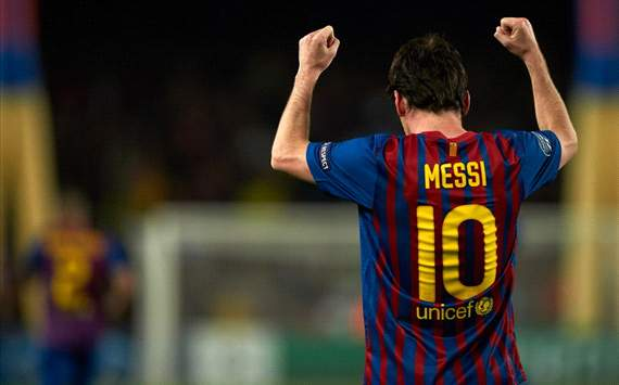 Lionel Messi the best player of the last five years, according to Goal.com 50 rankings