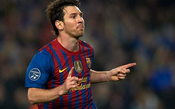 Lionel Messi (B) - Barcelona-Milan - Champions League (Getty Images)