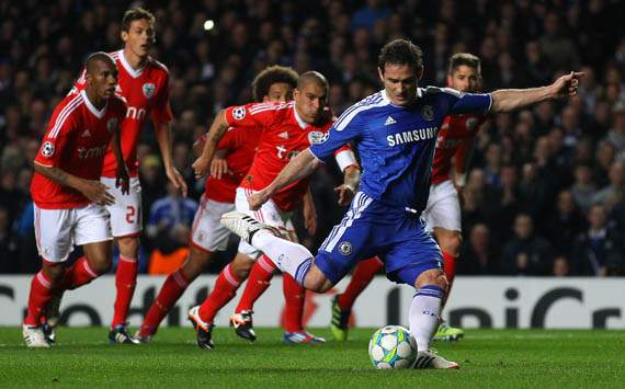 UEFA Champions League, Frank Lampard, Chelsea FC v SL Benfica