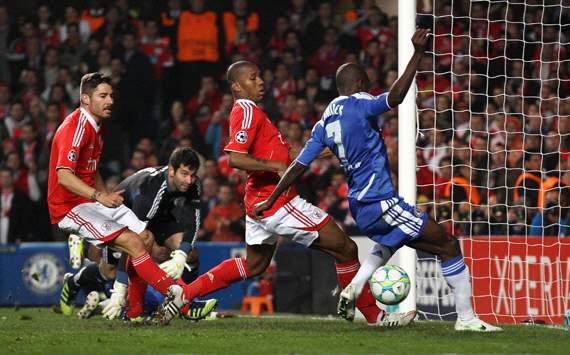 UEFA Champions League :Ramires , Chelsea FC v SL Benfica