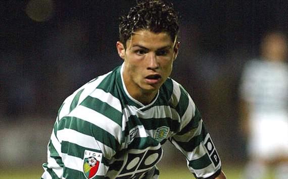 Cristiano Ronaldo at Sporting