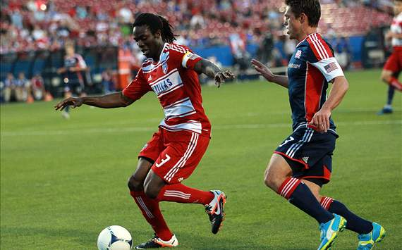 Ugo Ihemelu, FC Dallas; Ryan Guy, New England Revolution; MLS