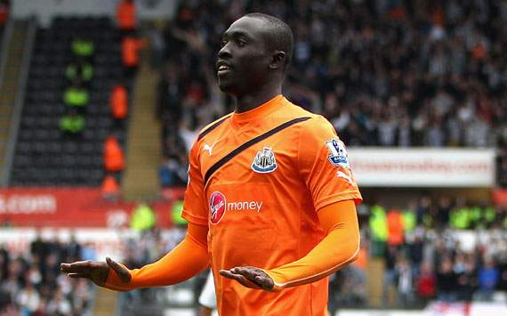 EPL,Papiss Cisse,Swansea City v Newcastle United