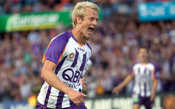 A-League - Perth Glory - Seb van den brink