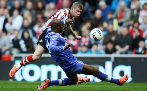 EPL - Sunderland vs Tottenham, James McClean & William Gallas