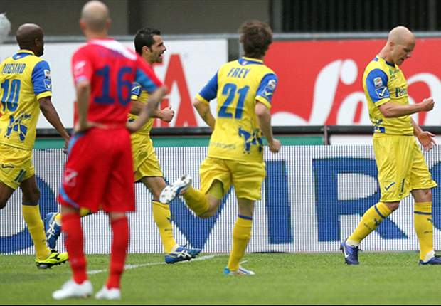 Michael Bradley scores his first Serie A goal in Chievo win