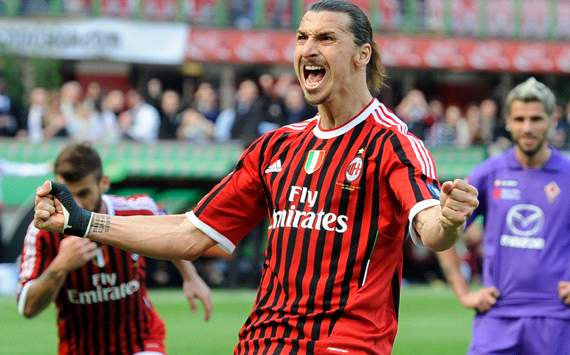 Ibrahimovic tops the list as most expensive player of all time