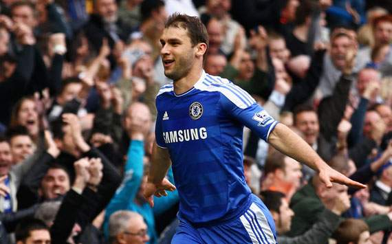 EPL,Branislav Ivanovic,Chelsea v Wigan Athletic