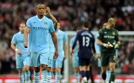 EPL,Vincent Kompany,Arsenal v Manchester City