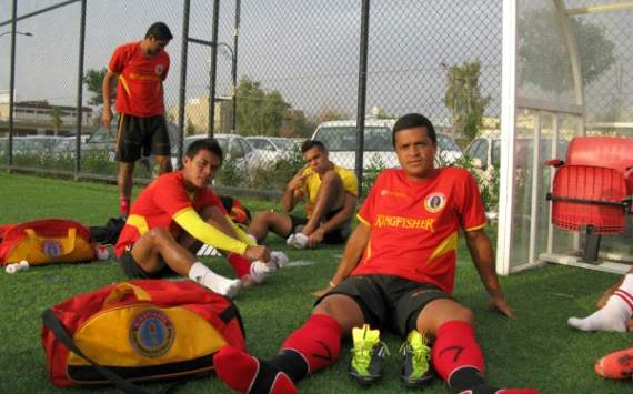 East Bengal training session at Erbil ground