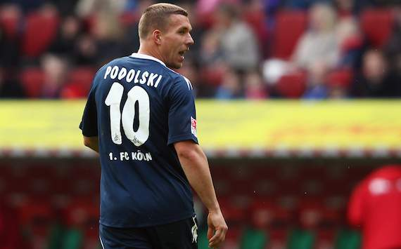 Arsenal transfer has liberated Podolski, says Koln boss Schaefer