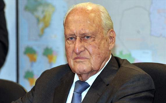 Mejora el estado de salud de Joao Havelange