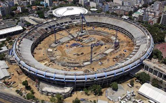 Hodgson hopes to face Brazil at Maracana