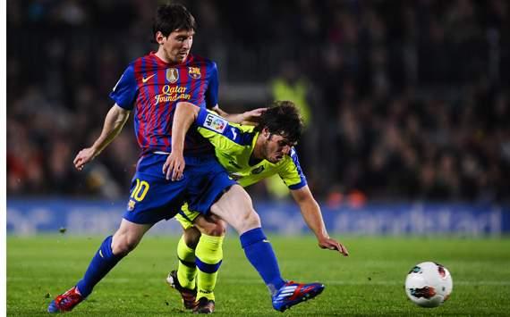 La Liga, Lionel Messi; Ruben Perez,FC Barcelona v Getafe CF