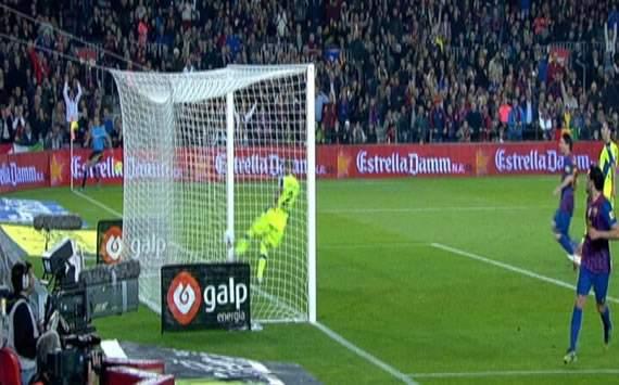 Gol fantasma Xavi Hernández vs Getafe - FC Barcelona