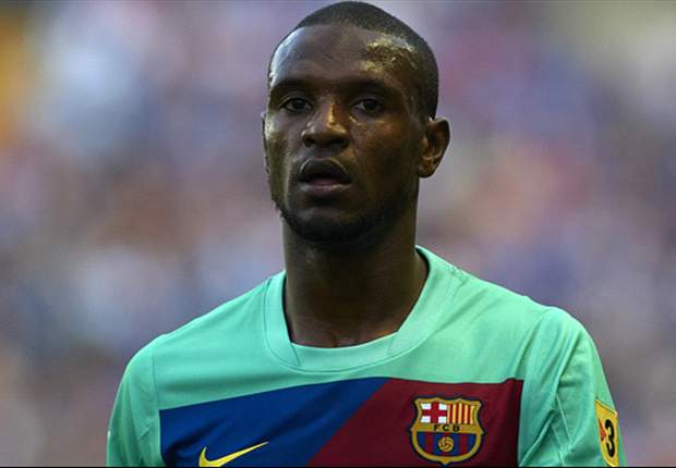 Abidal resumes individual training as he targets Barcelona return