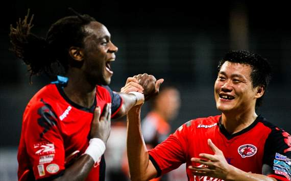 Frederic Mendy, Qiu Li, Home United, S.League