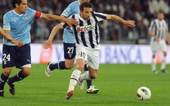 Alessandro Del Piero providing one last purple patch for Juventus as a farewell present