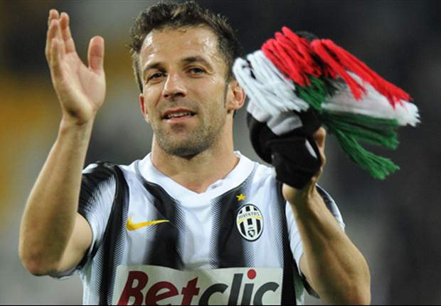 TEAM NEWS: Del Piero starts in final league game for Juventus
