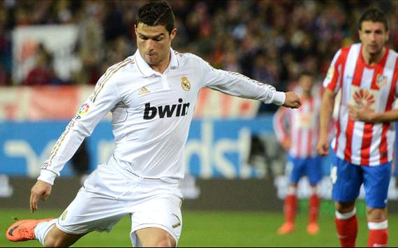 Ronaldo, Real madrid Vs Atletico Madrid