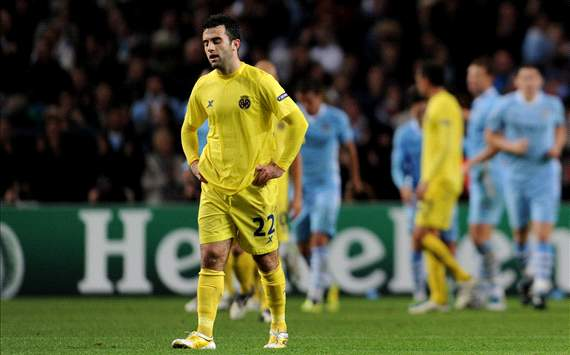 Guiseppe Rossi - Manchester City vs. Villarreal