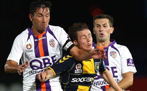 A-League - Perth Glory - Jacob Burns