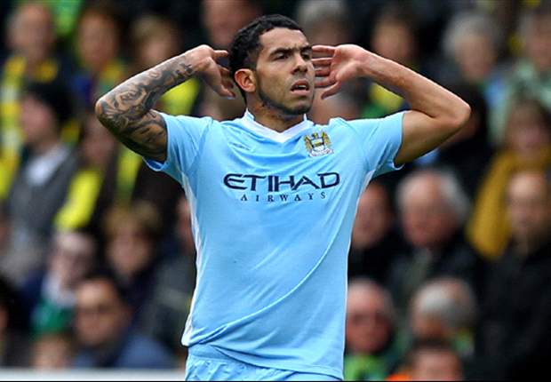 Manchester City's Tevez set to land huge pay bonus - report