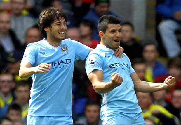 Word on the Tweet: Manchester City players heap praise on Aguero & Silva for club awards