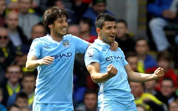 Word on the Tweet: Manchester City players heap praise on Aguero &amp; Silva for club awards