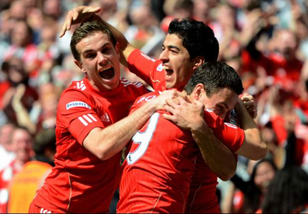 Liverpool players react to battling 2-1 comeback to defeat Merseyside rivals Everton and book place in FA Cup final