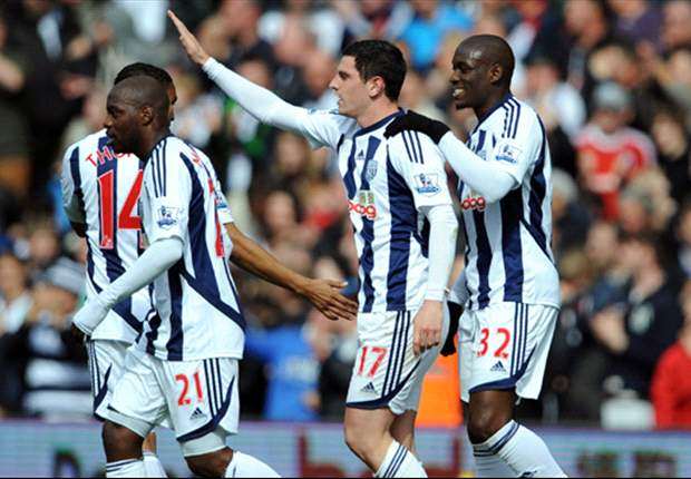 West Brom 2012-13 Premier League fixtures in full