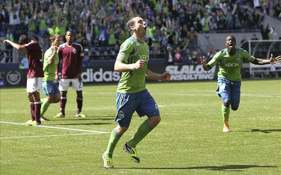 Zach Scott; Colorado Rapids - Seattle Sounders