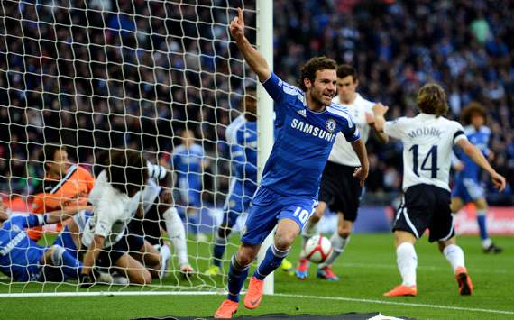 FA Cup: Juan Mata, Tottenham v Chelsea