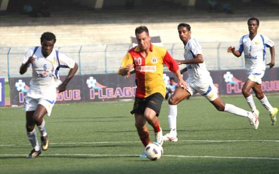 East Bengal vs Chirag United Kerala, I-League