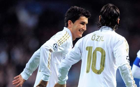 Nuri Sahin & Mesut Özi, Real Madrid