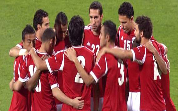 Egypt vs. Iraq @ 4/17/2012