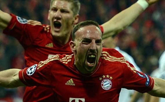 Ribery - Schweinsteiger - Realmadrid, Bayern munchen