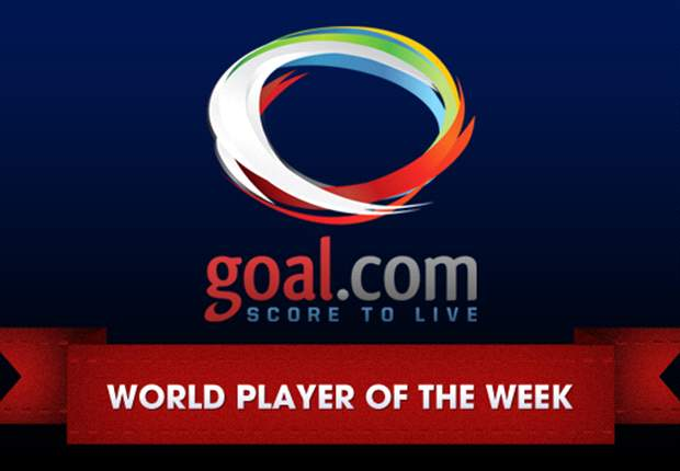 Vote for your Goal.com World Player of the Week