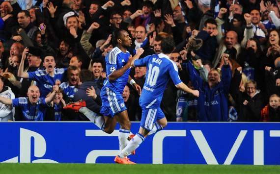 CL - Chelsea FC v Barcelona, Didier Drogba