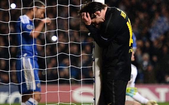 CL - Chelsea FC v Barcelona, Lionel Messi