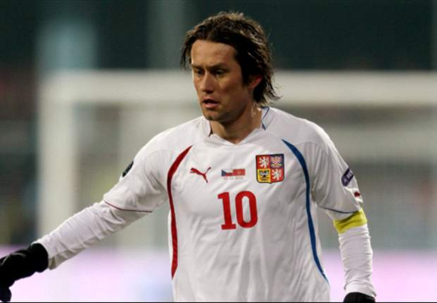Rosicky passed fit for Czech Republic's Euro 2012 opener