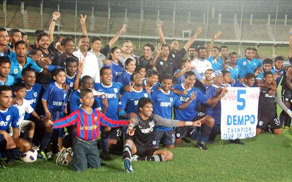 Dempo SC, I-League champions 2011-12