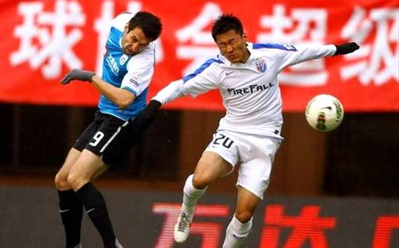 CSL - Dalian Aerbin vs. Shanghai Shenhua