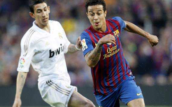 Liga : Thiago Alcantara vs Angel Di Maria (FC Barcelona vs Real Madrid)