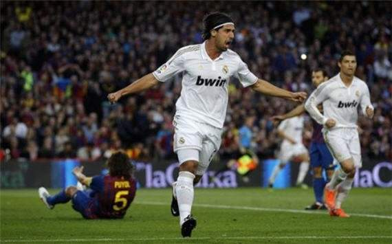 Sami Khedira, Barcelona Vs. Real madrid