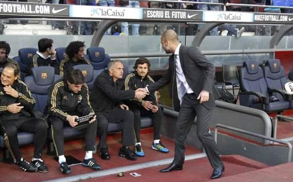Liga, Barcelona vs Real Madrid, Jose Mourinho and Pep Guardiola