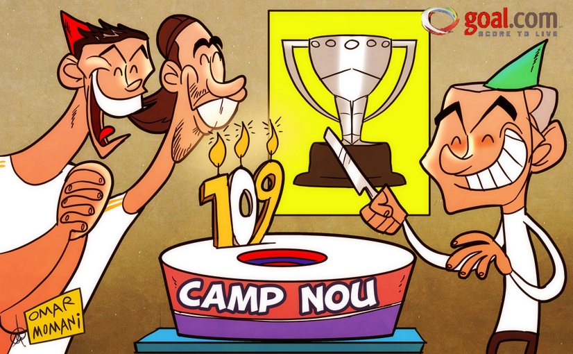 Cartoon of the Day Real Madrid s goal record the icing on the cake after Clasico triumph