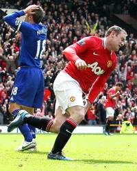 EPL : Wayne Rooney (Manchester United vs Everton)