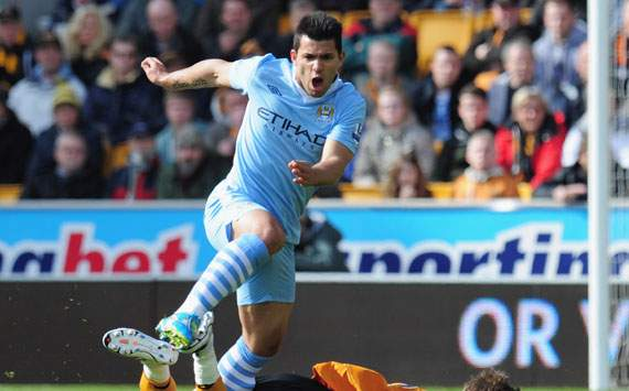 EPL,Sergio Aguero,Wolverhampton Wanderers v Manchester City